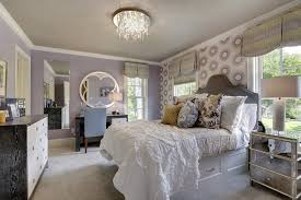 Crystal Table Lamps For Bedroom by Minneapolis Purple Bedroom Walls Transitional With Feminine Table