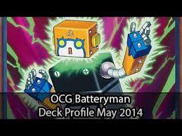 yugioh ocg top tier decks 2014 batteryman ocg edition yugioh deck profile may 2014