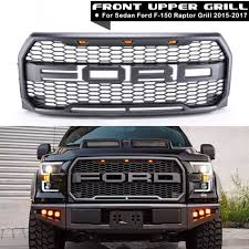 XYIVYG 2015 2017 For Ford F150 Raptor Style Replacement Part ABS ... 52016 Ford F150 Chrome 5 Five Bar Radiator Grille Oem New Fl3z Blacked Out 2017 With Guard Topperking Ijdmtoy 4pc Raptor Style 3000k Amber Led Lighting Kit For Chevy Ride Guides A Quick Guide To Identifying 196166 Pickups Announces Changes For 2013 Road Reality Mesh Replacement 30in Dual Row Black Series 2015 Old Truck Grill Photograph By John Puckett Options Page 124 Forum 02014 Camera With Rdsseries 30 Paramount Automotive Grill Letters Enthusiasts Forums 52017 Addicts Traxxas Ripit Rc Cars Trucks Fancing