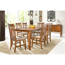 100 Oak Table 6 Chairs Oak Dining Set Testmonkeyinfo