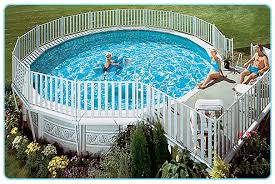 Above Ground Pool Ladder Deck Attachment by Above Ground Pool Safety Fencing