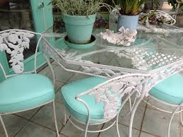 Vintage Wrought Iron Patio Furniture Woodard by Fa75bae9b71281ac3534c4747f4027e2 Jpg 736 552 Enchanting