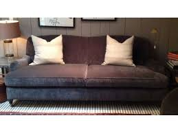 london 87 sofa in boulevard graphite by mitchell gold and bob