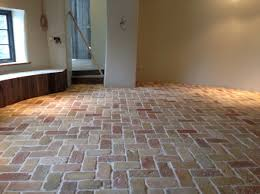 reclaimed terracotta tiles brick floor floors flooring lubelska