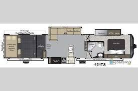 Montana 5th Wheel Floor Plans 2015 by New 2018 Keystone Rv Raptor 424ts Toy Hauler Fifth Wheel At Big