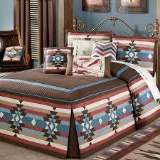 Southwest Decoratives Quilt Shop by Southwest Frontier Fitted Grande Bedspread Bedding