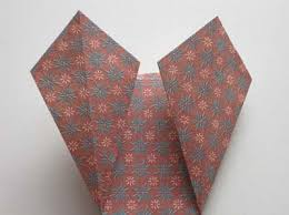 Easy Origami Vase Step 4