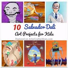 10 Surrealist Salvador Dali Art Projects For Kids