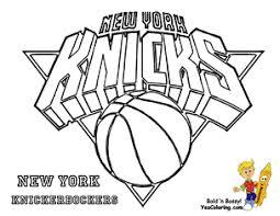 New York Knicks Basketball Printable At YesColoring Philadelphia 76ers Coloring Sheet