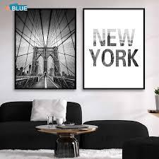 skandinavischen malerei leinwand schwarz und weiß new york