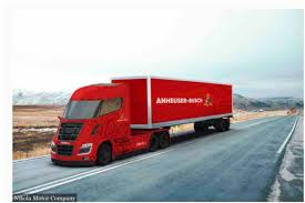 100 Usa Trucks Budweiser Switches To Hydrogen Trucks What About Carlton United