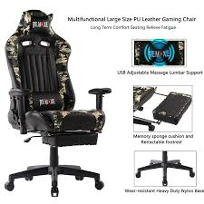 Gaming Chairs,High Back Ergonomic PC Gaming Chair Computer Racing Chair  Office Chair Desk Chair Video Gaming Chair Swivel Executive Leather Chair  With ... Bigzzia Pro Gt Recling Sports Racing Gaming Office Desk Pc Car Leather Chair Fniture Rest Kaam Monza Office Chair Lumisource Stylish Decor At Chairs Herman Miller 2022 Blue Pia Desk Affordable Pipe Series 106 By Piaval In Ding Collection For Martin Stoll Matteo Thun Vitra 55 Vintage Design Items Light And Shadow Photographer Ulin Home Brooklyn Department Name California State University Bakersfield Premium Grade Offices Waterfall City To Let Currie Group