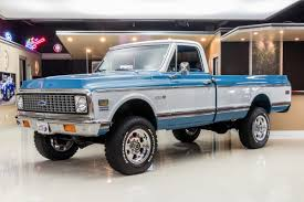 100 Cheap 4x4 Trucks For Sale 1972 Chevrolet K20 Classic Cars For Michigan Muscle Old