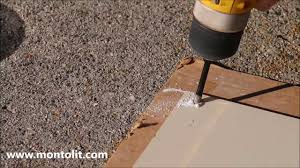 Drilling Through Ceramic Tile by Tricks For Dry Or Wet Drilling Of Glass Tiles And Glass Mosaic