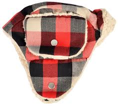 amazon com woolrich trapper hat x small small red black white