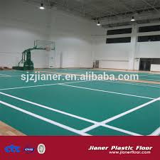 Taraflex Flooring Supplier Philippines by Badminton Court Vinyl Sports Flooring With Marking Lines Floor