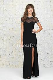 size evening dress with sleeves in black color satin