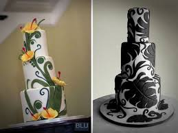 Hawaiian Themed Wedding Cake Beautiful