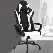 Racing Office Chair, High-Back PU Leather Gaming Chair Reclining ... Best Office Chairs And Home Small Ergonomic Task Chair Black Mesh Executive High Back Ofx Office Top 16 2019 Editors Pick Positiv Plus From Posturite Probably Perfect Cool Support Pics And Gray With Adjustable Volte Amazoncom Flash Fniture Fabric Mulfunction The 7 Of Shop Neutral Posture Eseries Steelcase Leap V2 Purple W Arms
