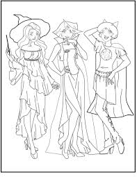 Totally Spies Coloring Pages With Joshua Army Marching Around The