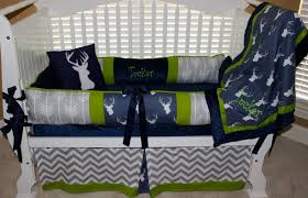 Woodland Crib Bedding Sets by Custom Baby Bedding 6 Pc Set Woodland Deer Forest Lodge