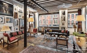 100 Lofts In Tribeca An Art Dealers Loft Plus A Superfancy Townhouse Equal This 10M