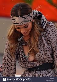Jennifer Lopez suffers a wardrobe malfunction on German ZDF TV