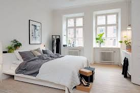 Full Size Of Bedroomexcellent Small Bedroom Ideas Ikea The Design With White Bed Along