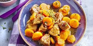 cuisiner un sauté de porc sauté de porc au miel thym et carottes facile et pas cher