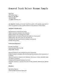 Forklift Driver Resume Lovely Truck Example Sample And Tips