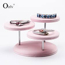 Oirlv Free Shipping Creative Shape Barcelet Bangle Ring Earring Pendant Holder Jewelry Display Stand For Counter Decoration