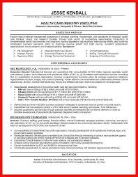 Resume Samples Healthcare Good Examples For