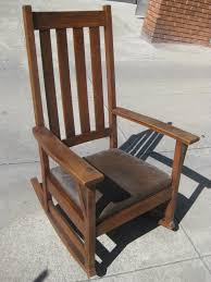 Uhuru Furniture Collectibles Sold Mission Oak Rocking Chair Kijiji ...