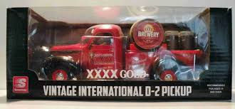 100 1938 International Truck D2 Pickup 4XXXX Custom Graphics Diecast