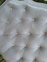 Velvet Headboard King Size by Best 25 Tufted Headboard Queen Ideas On Pinterest Upholstered