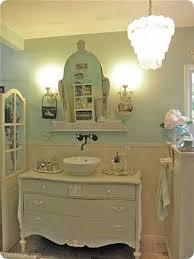 Shabby Chic Bathroom Ideas by Shabby Chic Bathroom Vanity Shabby Chic Dresser Vanity Shabby
