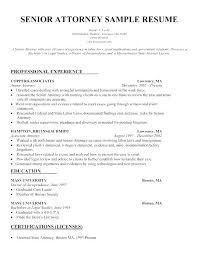 Sample Lawyer Resumes Resume Here Are Template Attorney Samples Best Of