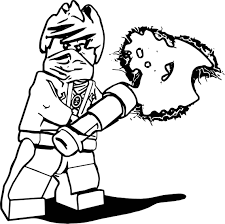 Ninjago Coloring Pages Best Cole Copy 25 Lego Kids