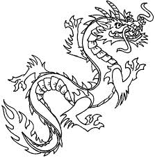Free Printable Dragon Coloring Pages S World Chinese Co