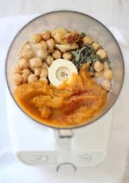 Pumpkin Hummus Recipe by Thyme U0026 Toast Roasted Garlic And Sage Pumpkin Hummus
