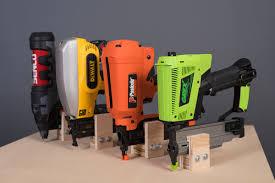 Home Depot Bostitch Floor Nailer by The Difference Between Brad Nailers U0026 Finish Nailers Nail Gun