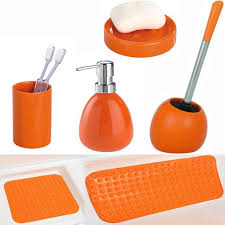 Yellow And Grey Bathroom Accessories Uk by Yellow And Orange Bathroom Accessories Enchanting Accessories Cbed