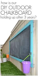 Unsanded Tile Grout Chalkboard by Top 25 Best Outdoor Chalkboard Ideas On Pinterest Kids Backyard