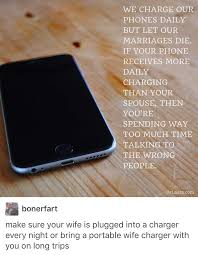 What if my wife charger is broken Tumblr
