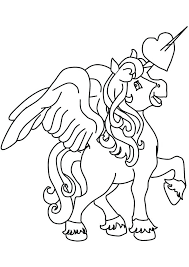 Pegasus Coloring Pages Cute For Kids Cosmic Adults