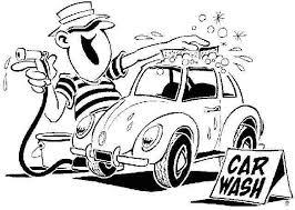 Car wash black and white clipart Clipartix