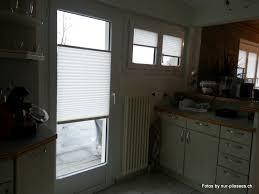 plissees und faltrollos oder plisseerollos in der küche