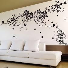 Wall Decor Floral Butterfly Flower Art Ideas