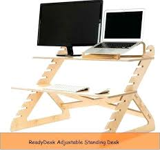 Uplift Standing Desk Australia by Desk Diy Adjustable Standing Desk Converter Titan Monitor Stand
