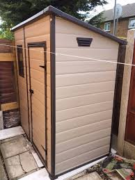 6 X 6 Wood Storage Shed by Keter Manor Pent Outdoor Plastic Garden Storage Shed 6 X 4 Feet
